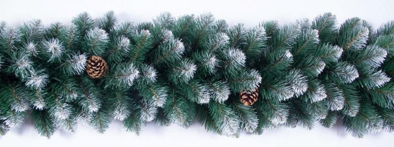 Гирлянда рождественская Канадская